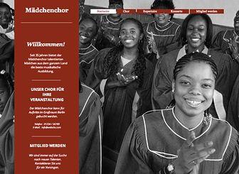 Der Mädchenchor Template - Erstellen Sie einen Internetauftritt für Ihren Chor oder Ihr Musical mit dieser ansprechenden Homepage-Vorlage. Ändern Sie das Design, sodass es genau Ihren Vorstellungen entspricht. Fügen Sie Beschreibungen Ihrer Gruppe und bevorstehenden Auftritten hinzu. Gehen Sie mit Ihrer harmonischen Website online!
