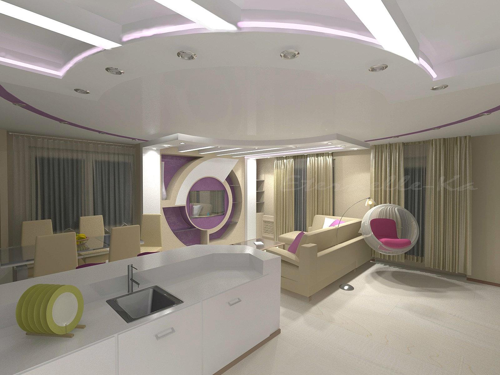 Американский стиль в дизайне дома