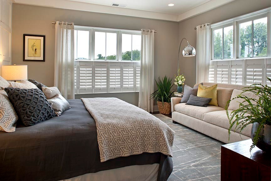 Master Bedroom With Sofa