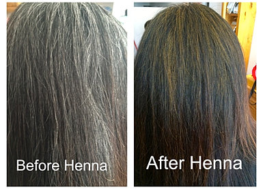 Mehndi For Gray Hair : Henna hair dye white makedes