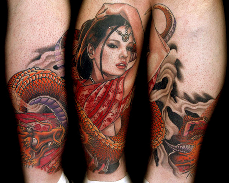 Тату у баб, Женские татуировки Интимные татуфотографий 7 фотография