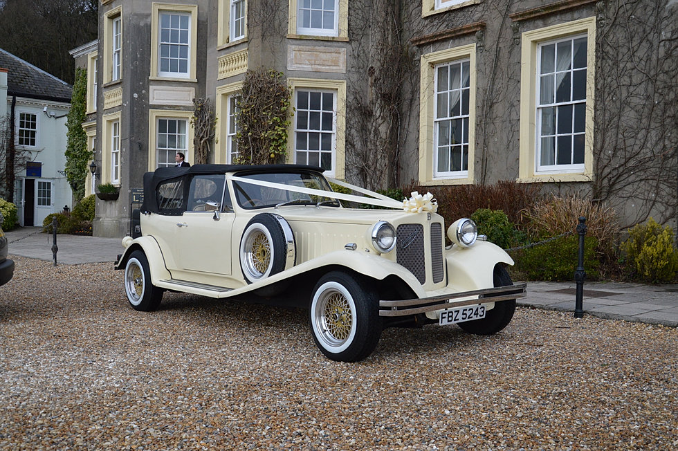 Vintage Car Hire Cardiff