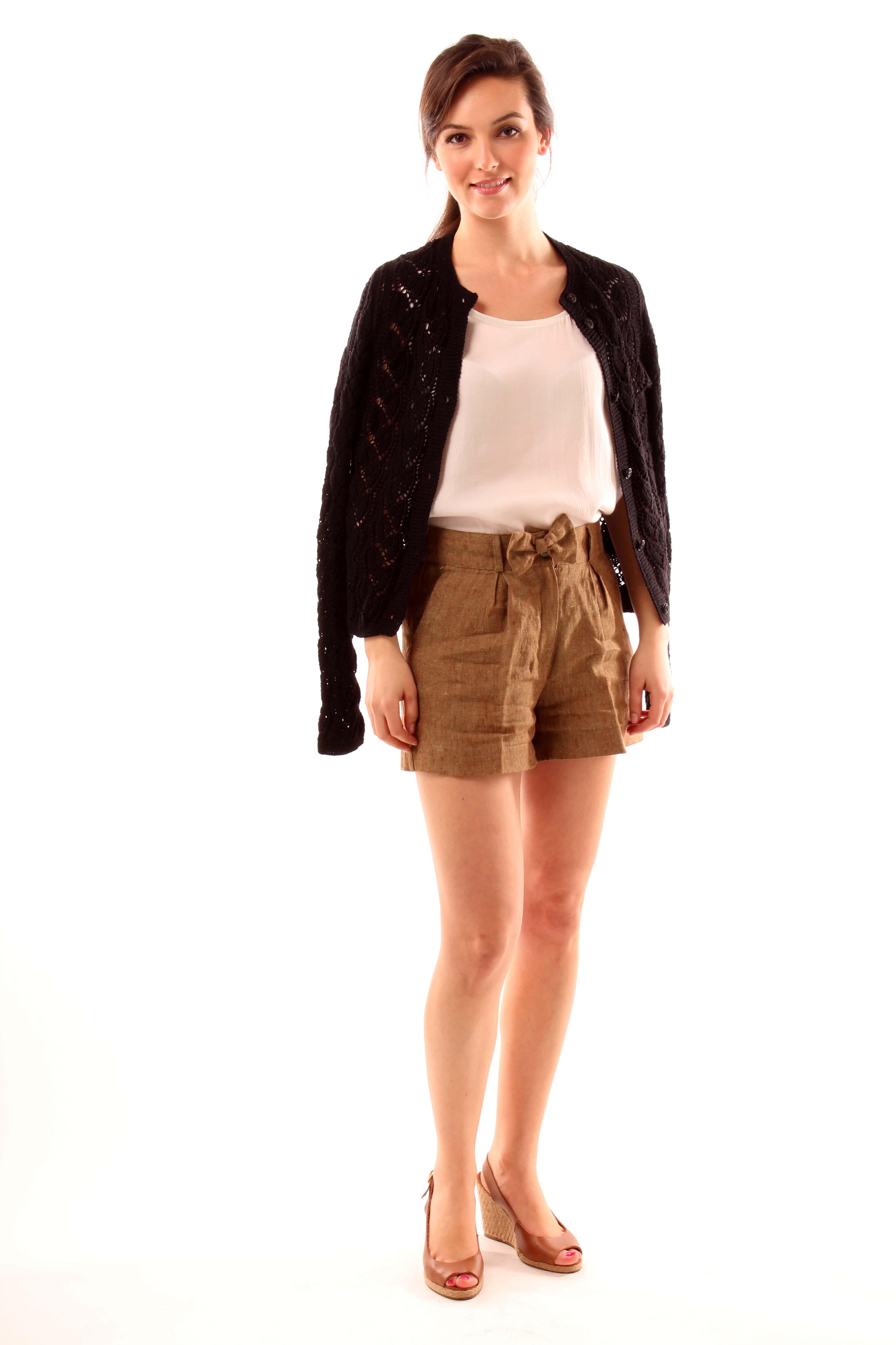 Linen dresses, beachwear and coverups