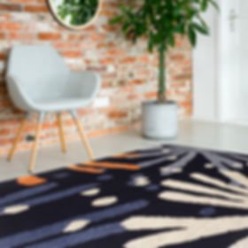 Dandelion rug sqaure in room-low-res.jpg