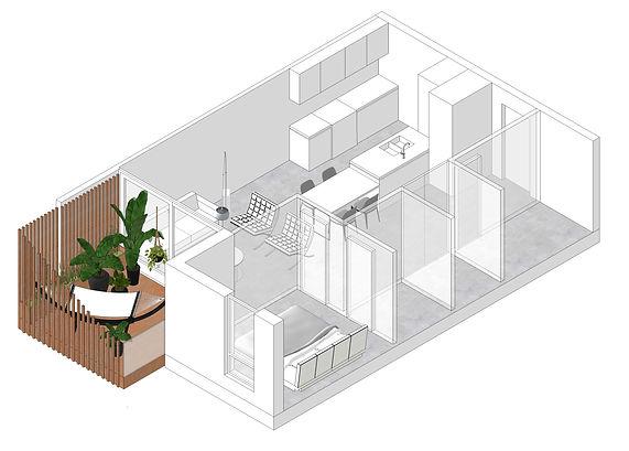 mile-x apartments PERCH architecture