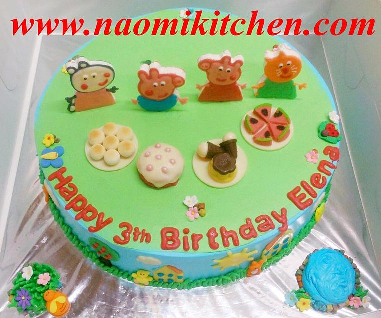 Peppa Pig Birthday Cake Singapore Singapore Cake Birthday Cake