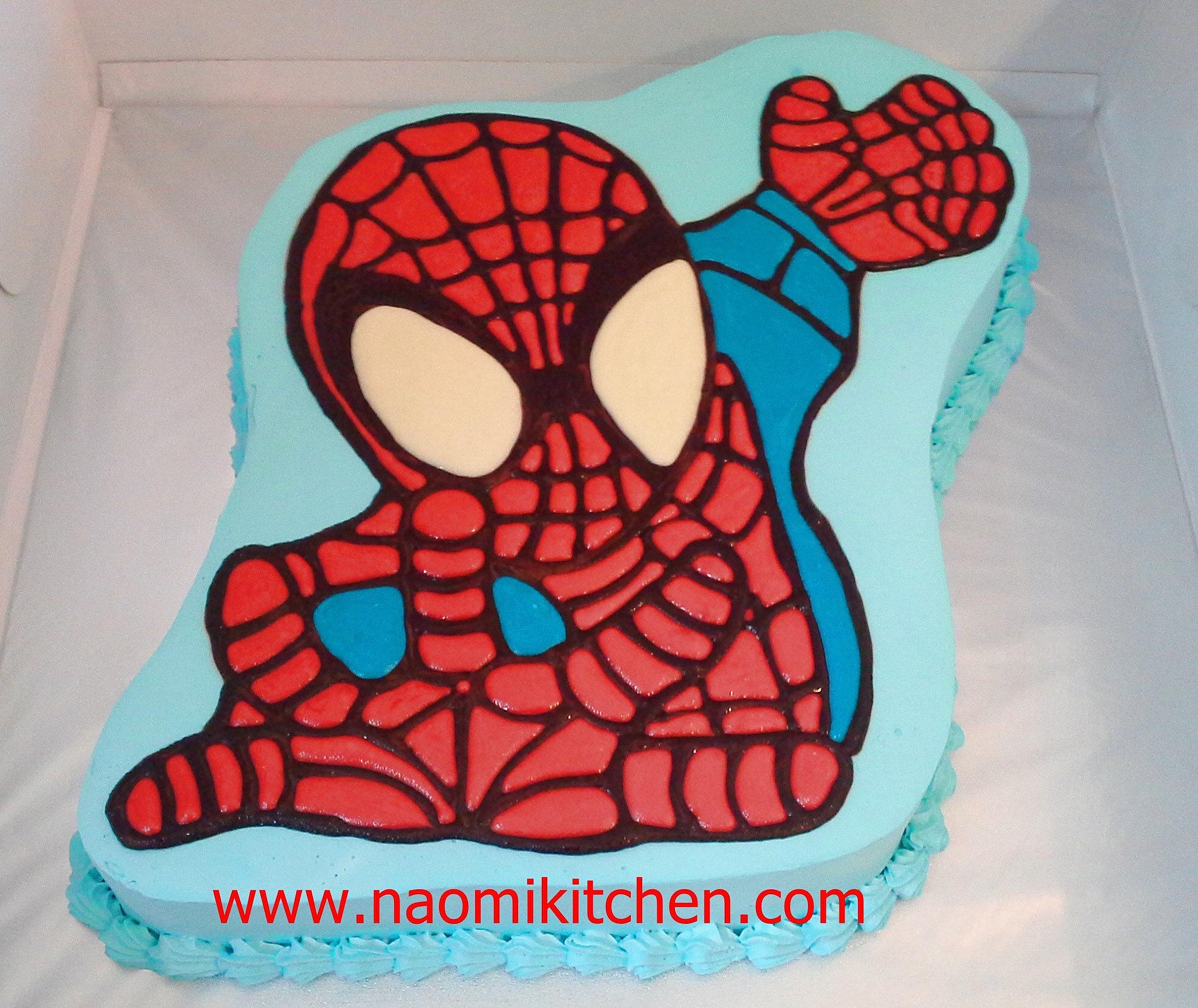 Spiderman Birthday Cake Singapore