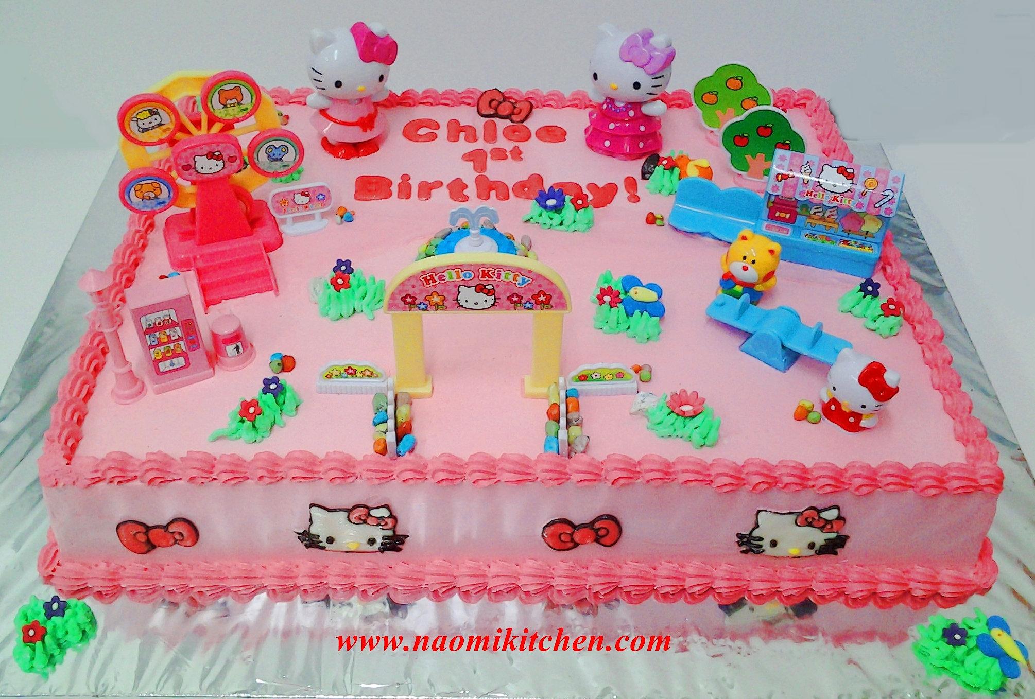 Birthday Cake Naomi Kitchen Cake Kids Birthday Cake
