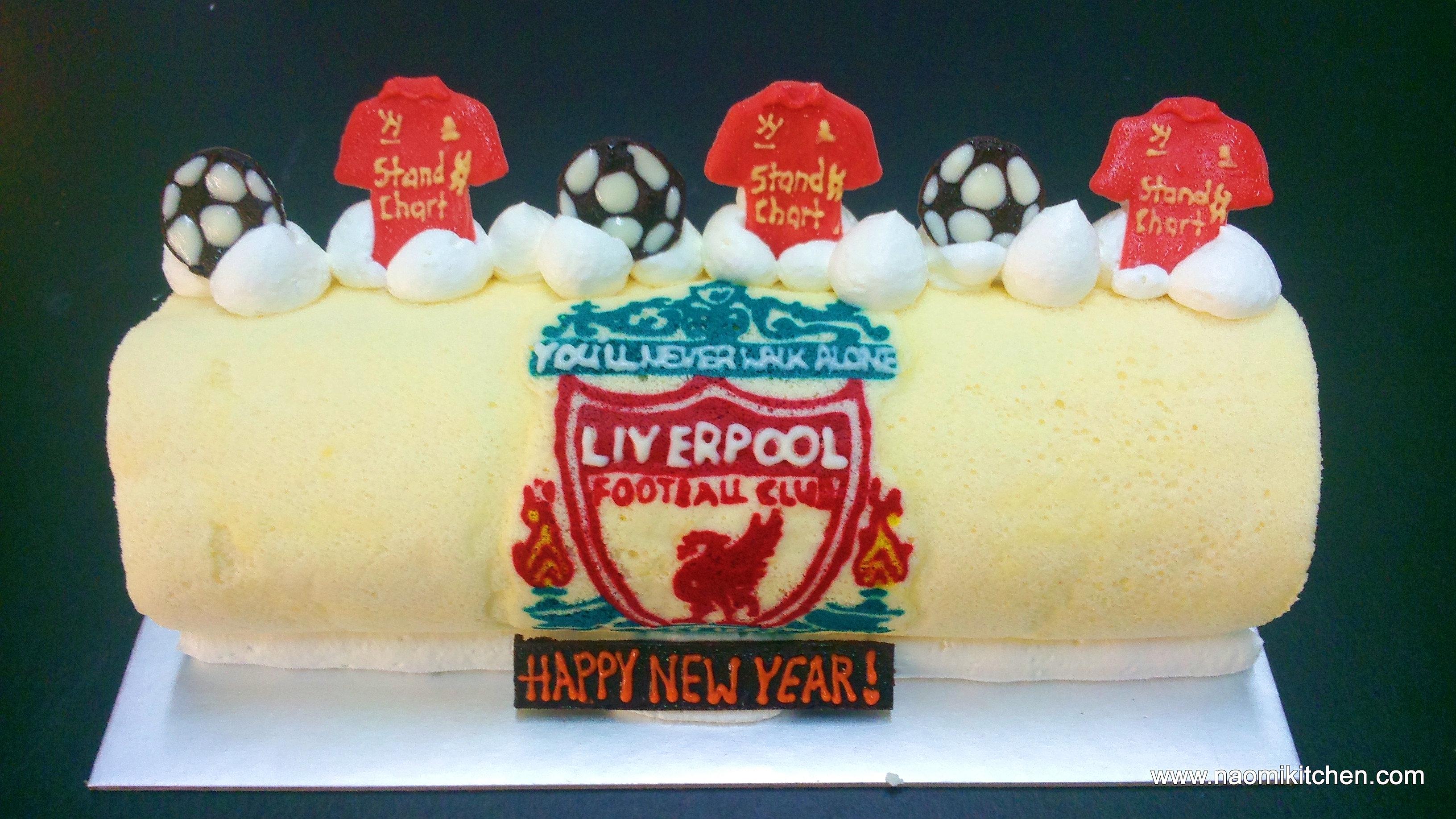 Liverpool Birthday Cake Singapore