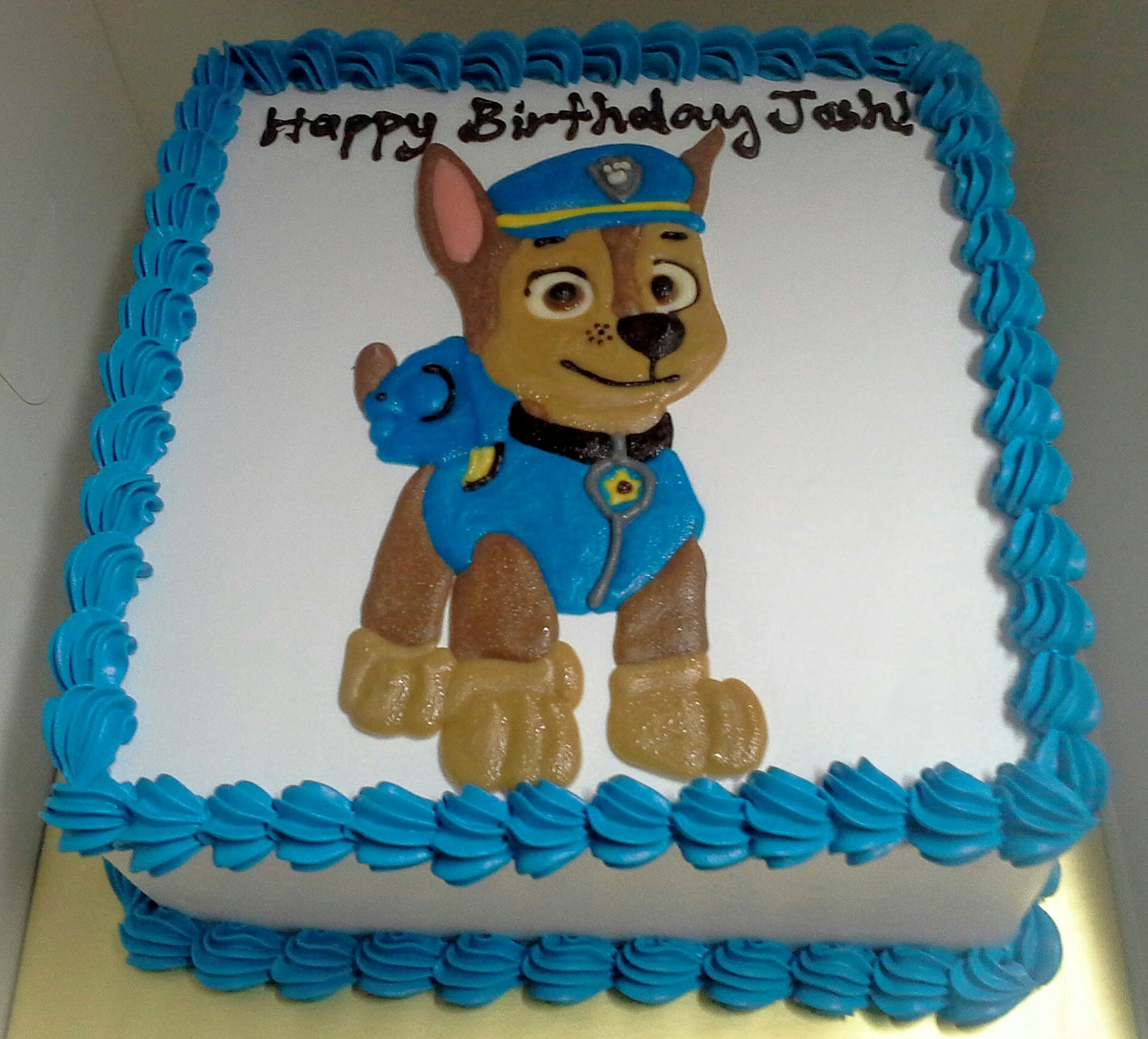 Easy Cake Ideas Dog Boy Cake