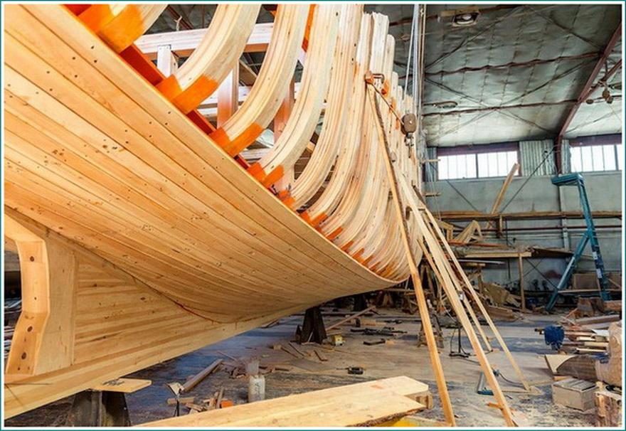 строительство стальных лодок