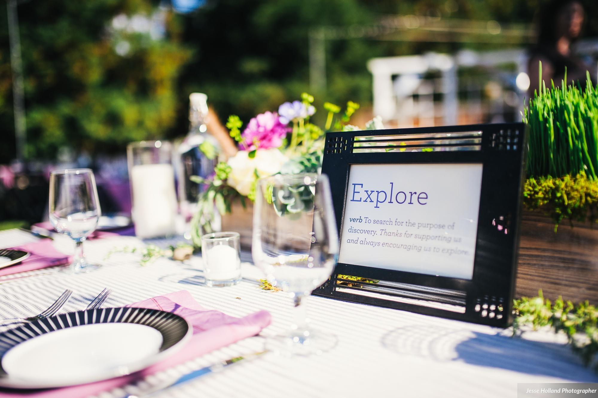 amanda ryan u0027s inspiring backyard wedding visual impact design