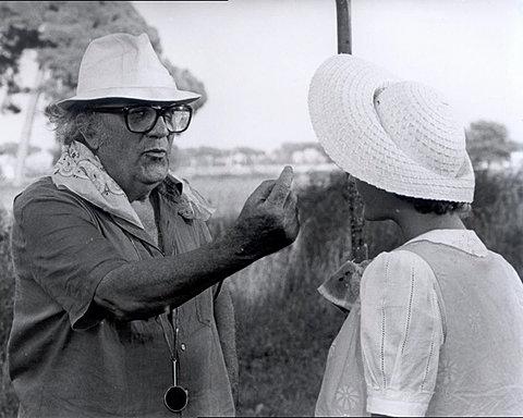 Antonella Ponziani &Federico Fellini