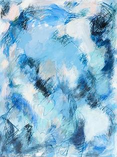 Act Blue painting