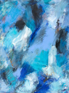 Remember Me Blue painting
