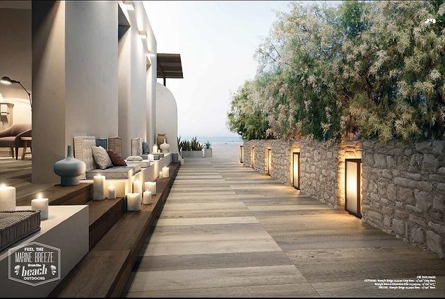 Piastrelle Per Esterni Effetto Legno : Pavimenti per l esterno effetto legno di marco sas vendita di