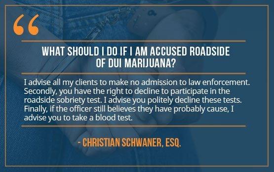 How Police Test for a Marijuana DUI
