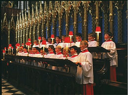 Westminster Abbey (Quire), Evensong to celebrate the legal recognition of the CofE in Italy