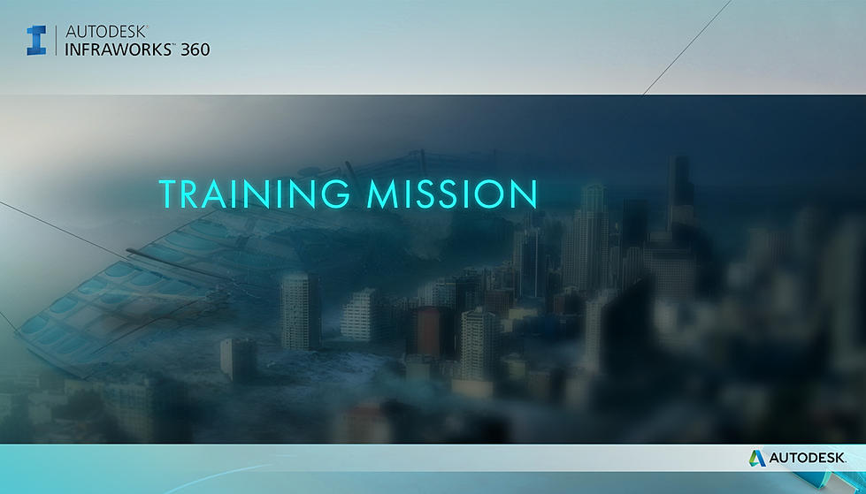 Autodesk - Training Mission Splash Screen