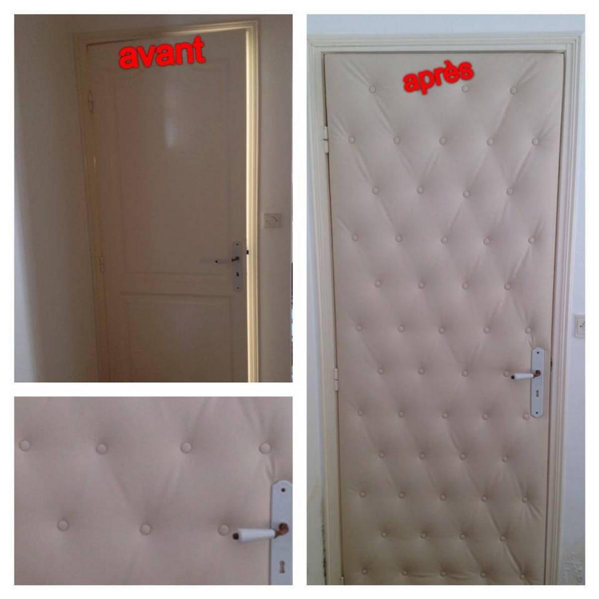 Isolation phonique porte interieur design
