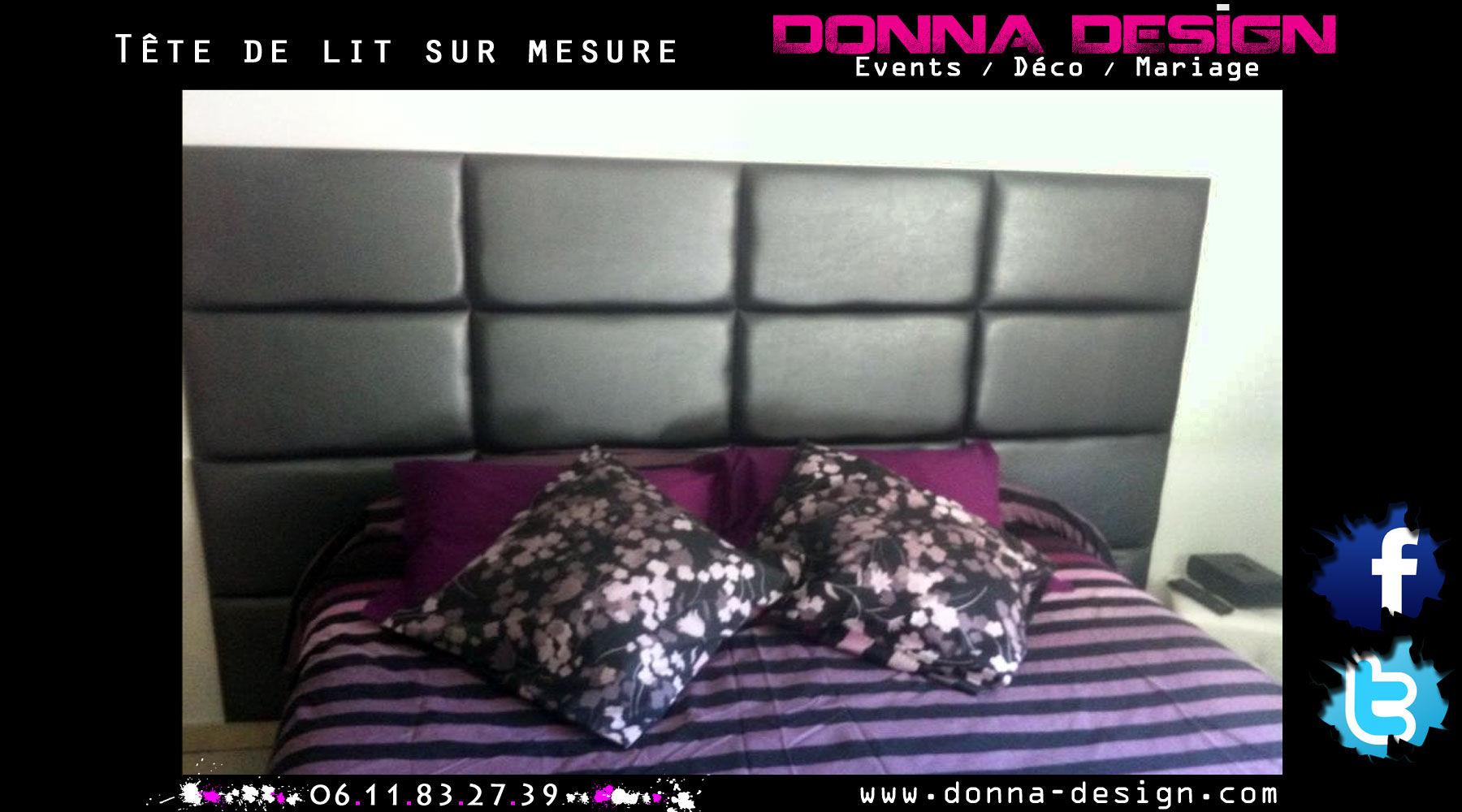 donna design d co mur capitonn houppa cabine dj marseille. Black Bedroom Furniture Sets. Home Design Ideas