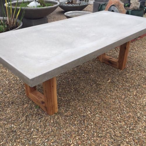 Concrete Timber Dining Table U Shape Au 1 395 00