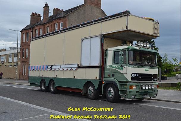 Funfairs Around Scotland   Fair Transport