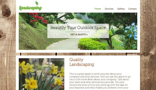 Jardinería de paisaje
