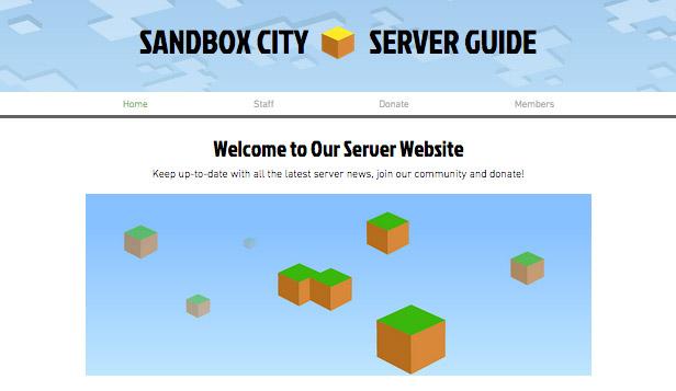 Strona fanów Minecrafta
