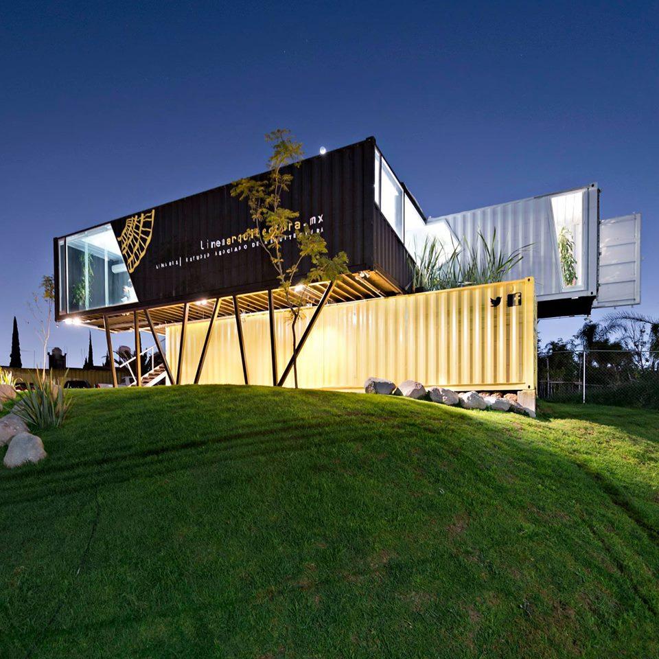 Linea arquitectura proyecto sustentable 3 sustenth bit for Arquitectura contenedores maritimos