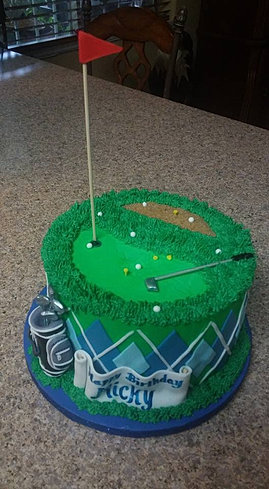 Specialty sculpted or handpainted custom cakes