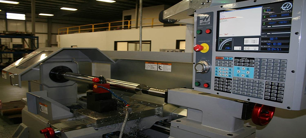 Dynamometer shaft in the CNC lathe