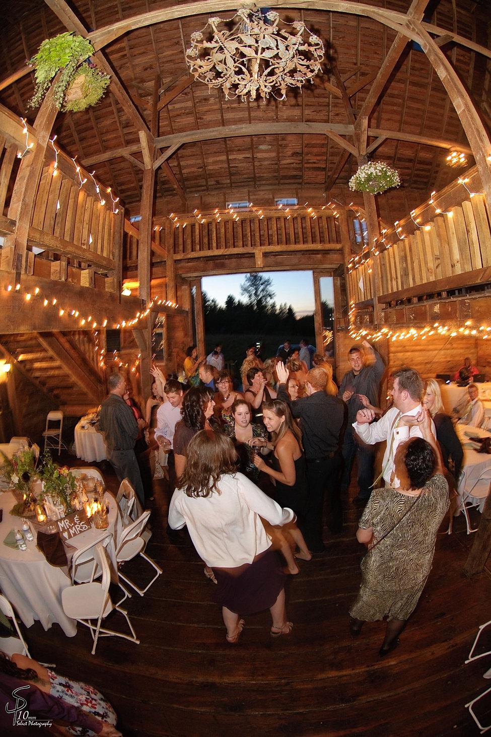 Barn Wedding And Reception