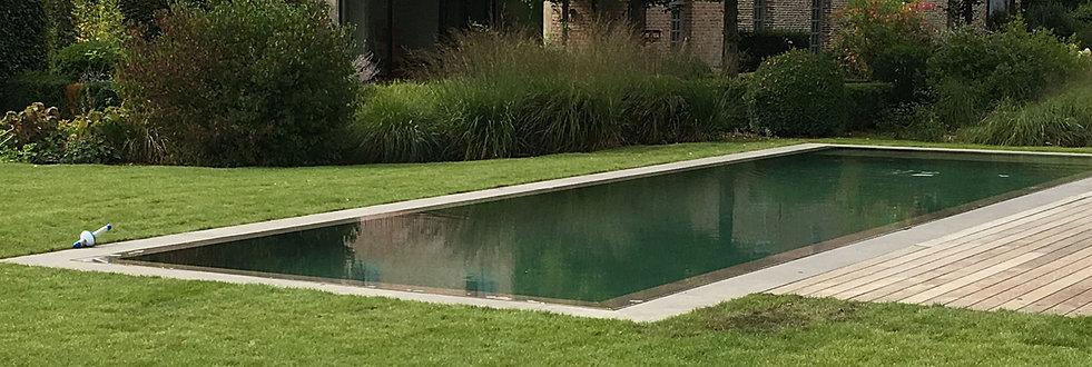Constructeur de piscines belgique piscines b ton arm for Piscine miroir sable