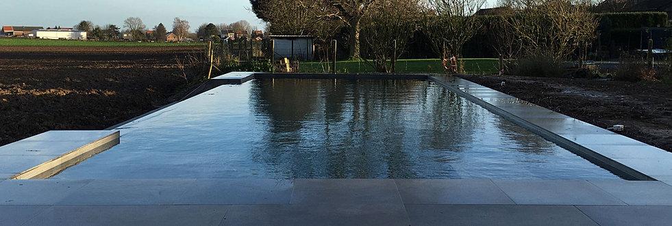 Constructeur de piscines belgique piscines b ton arm for Piscine miroir bali