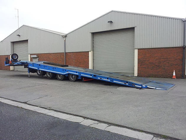 Recovery Trailer For Sale Trax 4 Axle Recovery Trailer