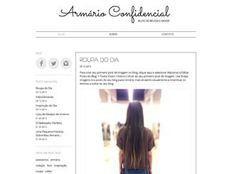 Blog de Moda Template - Este template com espaço branco e agradável, e fontes chiques é perfeito para blogueiros de moda. Crie seus vídeos, textos e posts de fotos para compartilhar suas belas inspirações, comentários e listas de desejos. Personalize o layout e o esquema de cores para combinar com o seu estilo!