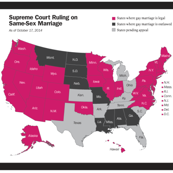 How many states is gay marriage legal #9