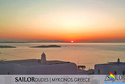 Mykonos town map Hora detailed map by Sky Map Greece