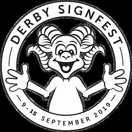 Derby Signfest Logo - Transparent Backgr