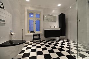 baderomsfliser. Black Bedroom Furniture Sets. Home Design Ideas