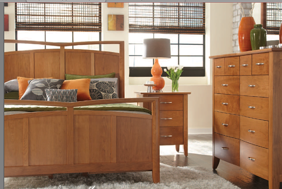 simply amish monarch collection built bedroom furniture moduluxe
