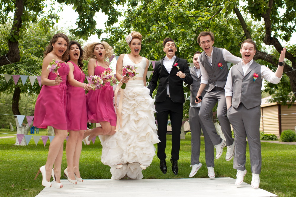 Красиво одеться на свадьбу