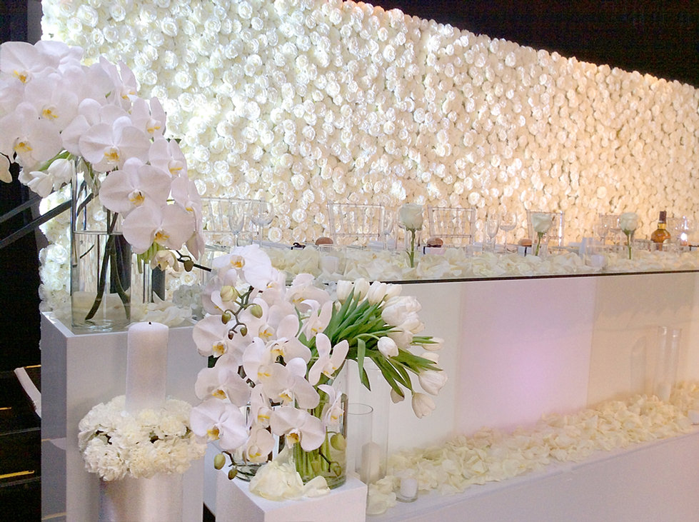 LUXE Flower Wall Hire