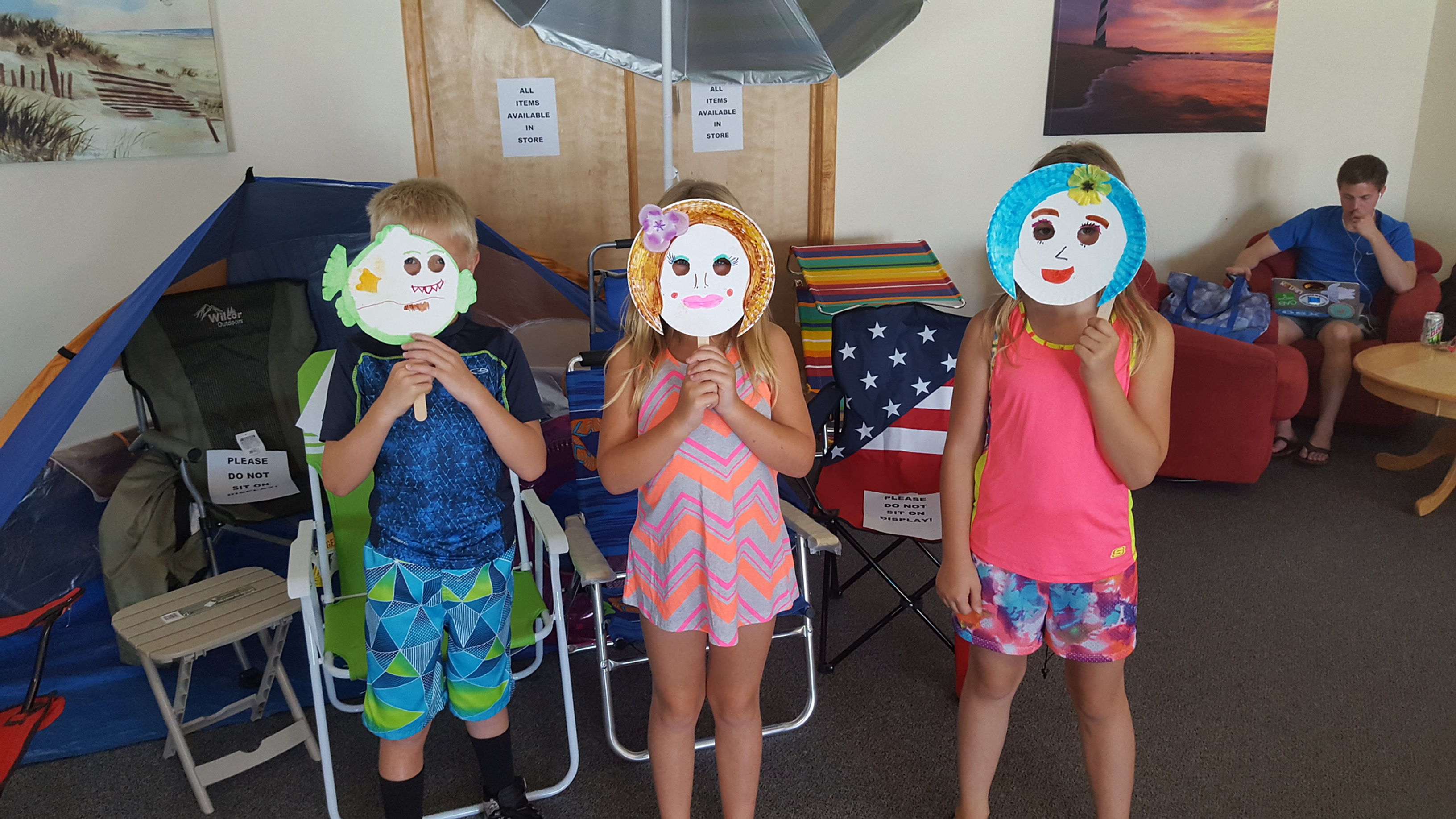 C& Hatteras RV C&ground and Resort   Paper Plate Faces. & Camp Hatteras RV Campground and Resort   Paper Plate Faces