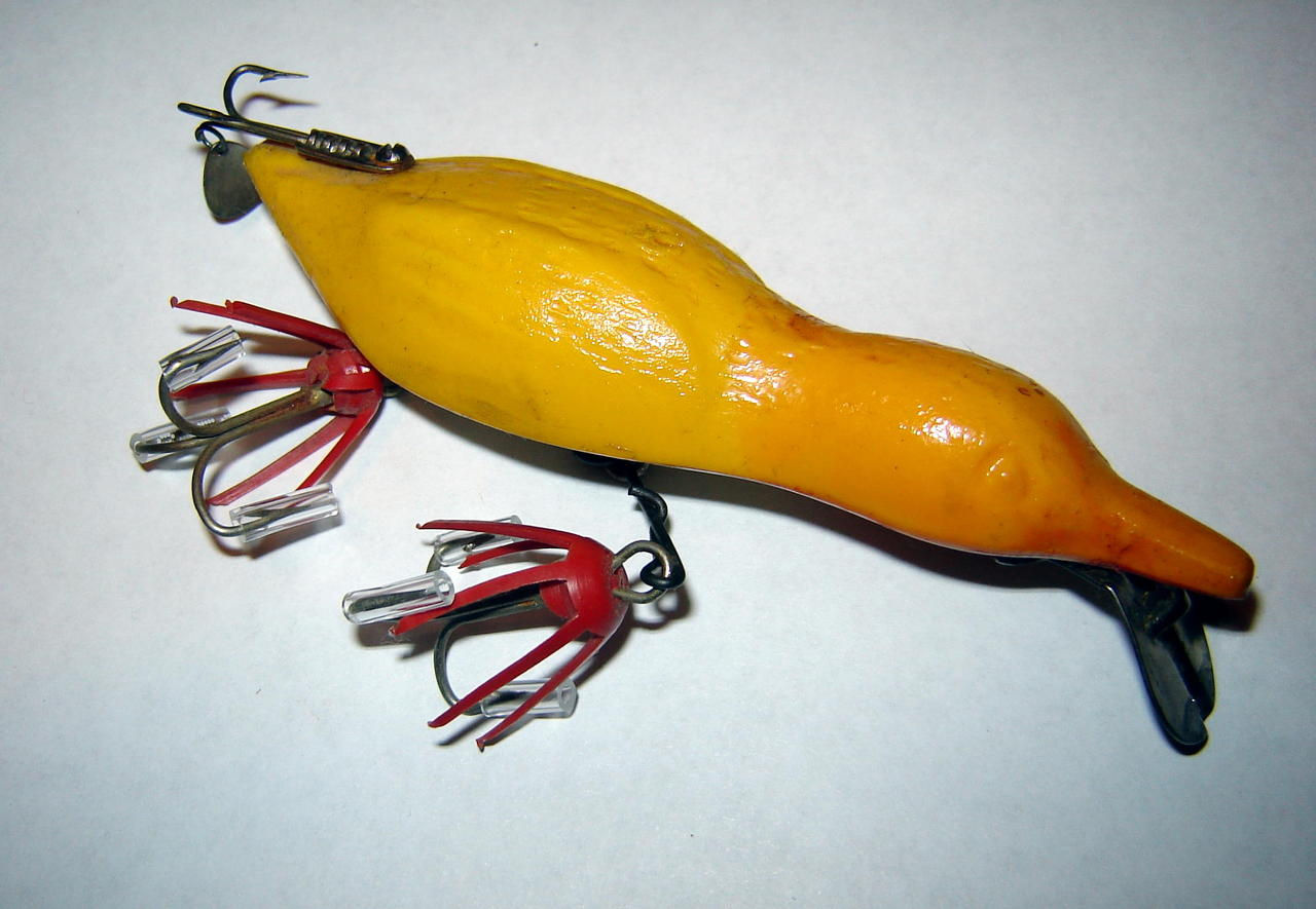 Megaluremaniacs unknown lures for Duck fishing lure