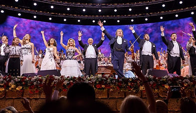 With Andre Rieu in Maastricth