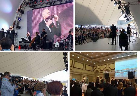 Gheorghe Zamfir concert at theAstana Expo 2017 for Romanian Day