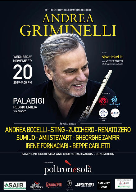 Griminelli 60 Birthday Gala