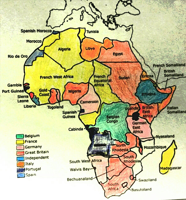 World History Maps During Imperialism